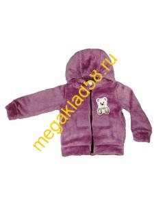 Кофта с люрексом , велсофт Buttoni р-р 86-110 (5 шт/уп) темно-розовый******