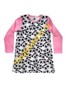Платье П-0704, интерлок,  р-р 86-110 (5 шт/уп) Панда*****