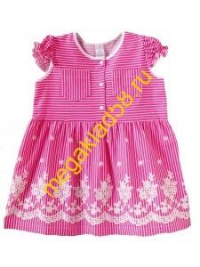 Платье ПК-004-1 , кулирка, р.р.98-122 (5 шт/уп) Розовый