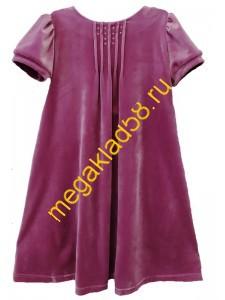 Платье П-4994 короткий рукав, велюр  Buttoni р.р.122-140 (4 шт/уп)