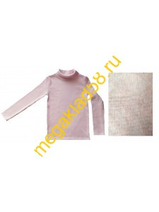 Водолазка В-3004 начес кашкорсе Buttoni р.р 116-134 (4 шт/уп) розовый меланж
