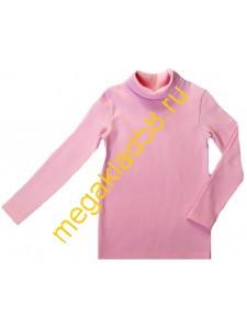 Водолазка В-3002 начес кашкорсе Buttoni р.р 92-122 (6шт/уп) розовый меланж