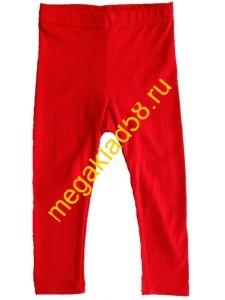 Бриджи Б-1414, кулирка с лайкрой р.р 92-128 (7 шт/уп) Красный