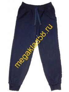 Брюки БФ -0237  Спорт , футер петля, LTL, р.р.122-140 (4 шт/уп) Темно-синий*****